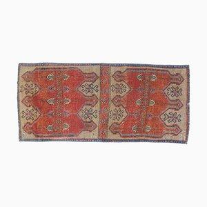 2x4 Antiker Türkischer Oushak Mini Teppich