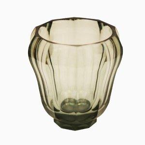 Art Deco Kristallvase