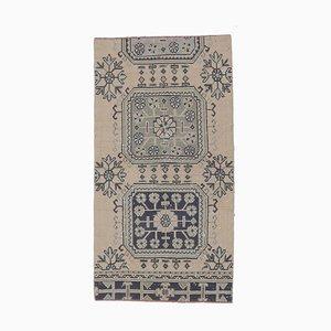 Tappeto vintage con superficie a forma di polvere vintage arancione, Turchia