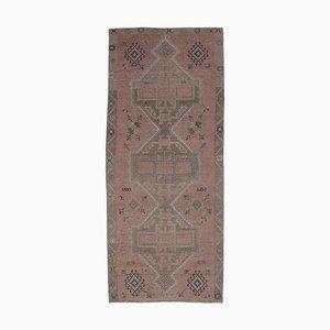 Tappeto Oushak vintage fatto a mano con lana, 5x12 cm