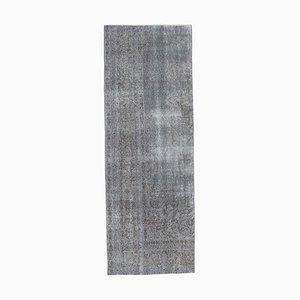 Tappeto Oushak vintage grigio fatto a mano, Polonia
