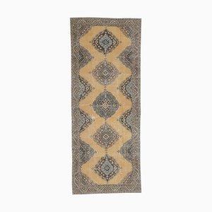 Tappeto Oushak vintage fatto a mano di lana Patel 5x12