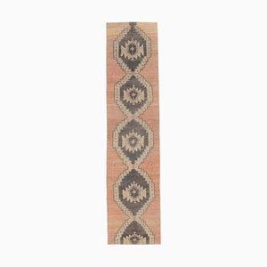 2x10 Vintage Turkish Oushak Handmade Wool Runner Rug