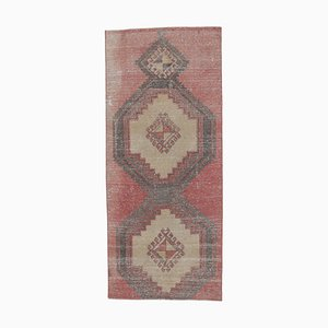 Tappeto Oushak vintage in lana fatto a mano, Turchia