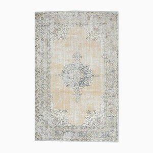 7x11 Vintage Turkish Oushak Handmade Wool Oriental Rug
