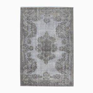 5x8 Vintage Turkish Oushak Handmade Wool Oriental Rug
