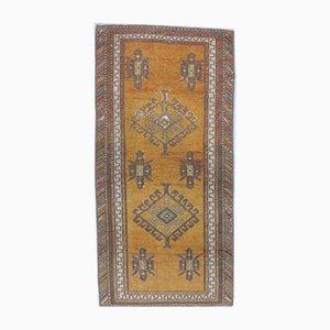 2x4 Antiker türkischer Oushak Teppich Fußmatte oder Kleiner Teppich