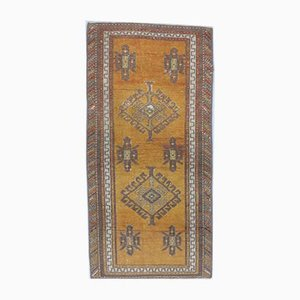 Tappeto o tappeto piccolo Oushak antico 2x4, Turchia