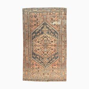 4x6 Vintage Turkish Oushak Handmade Wool Eclectic Rug