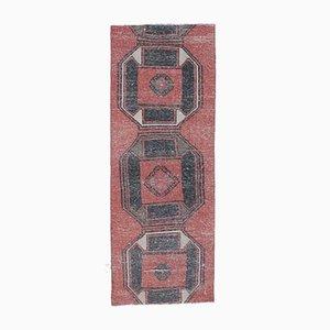 2x6 Vintage Turkish Oushak Handmade Wool Runner Rug