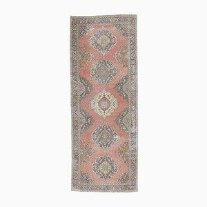 5x13 Vintage Turkish Oushak Handmade Wool Wide Runner Rug