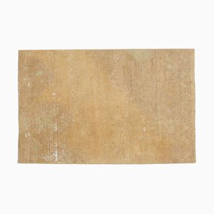 3x4 Antiker Türkischer Oushak Teppich Fußmatte oder Kleiner Teppich