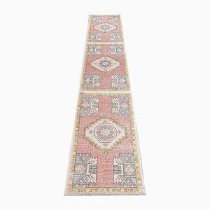 Handgeknüpfter türkischer Vintage Ouschak Teppich aus Wolle