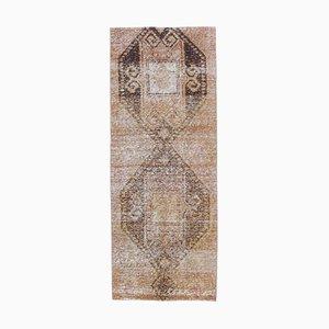 2x6 Vintage Turkish Oushak Handmade Copper Wool Runner