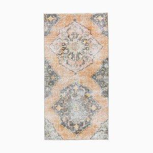 3x5 türkischer orientalischer Vintage Oushak Orient Läufer Teppich