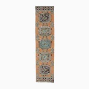 Tappeto Tappeto Runner Oshak vintage in lana, Medio Oriente, 3x11 cm