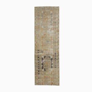 3x10 Antiker Türkischer Handgewebter Oushak Wollteppich in Orange