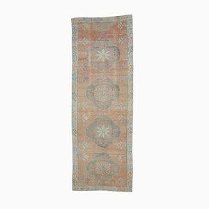 Türkischer Vintage Oushak Teppich in Rot von 4xl
