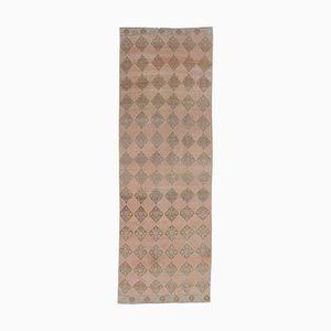 3x10 Antique Turkish Oushak Wool Low Pile Hallway Rug