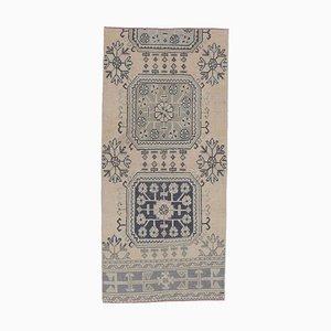 Tappeto antico Oushak 3x6 fatto a mano, Turchia