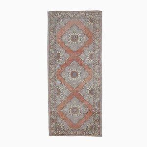 5x11 Vintage Turkish Oushak Handmade Wool Wide Runner Rug