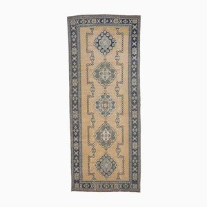 4x11 Vintage Turkish Oushak Handmade Runner