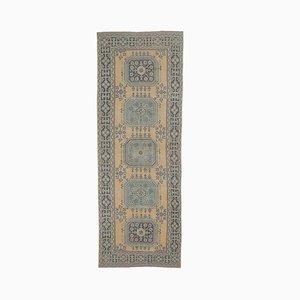 Türkischer Vintage Oushak Vintage Wollteppich in Grün