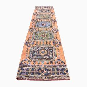 2x11 Vintage Turkish Oushak Handwoven Wool Hallway Runner