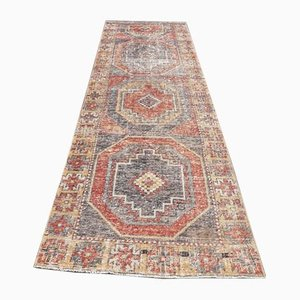 3x10 Vintage Turkish Oushak Handmade Wool Runner Carpet