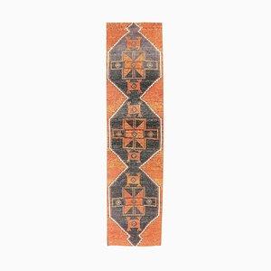 3x12 Vintage Middle East Oushak Handmade Wool Rustic Runner Rug