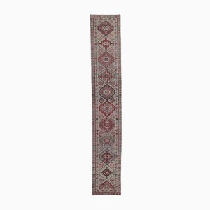 3x17 Vintage Turkish Oushak Extra Long Hand-Knotted Runner