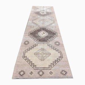 3x10 Antique Turkish Oushak Handmade Neutral Wool Carpet