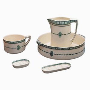 Art Nouveau Washing Set from Villeroy & Boch, 1910s, Set of 5