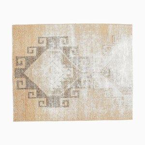 Türkischer Vintage Oushak Vintage Stil 3x4 Teppich