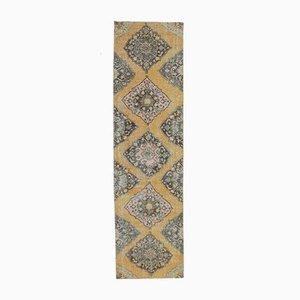 3x11 Vintage Turkish Oushak Handmade Oriental Wool Rug