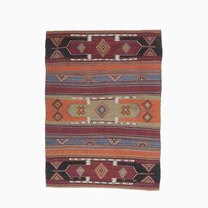 Tappeto Kiliman Oushak vintage fatto a mano, lana, 6x9