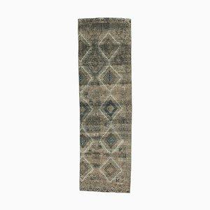 Tappeto da ingresso Oushak vintage in lana fatto a mano, Austria