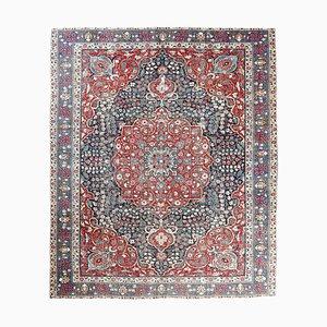 9x11 Vintage Middle East Oushak Handmade Wool Rug