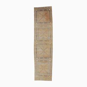3x11 Antiker Türkischer Oushak Handgewebter Wollteppich Neutral