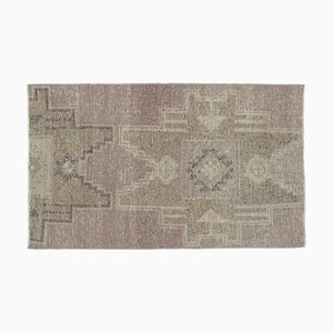 2x4 Türkischer Vintage Oushak Teppich Mini Teppich