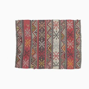 Zerbino o tappeto piccolo Oushak Kilim vintage 2x3, Turchia