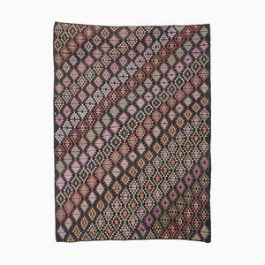 8x11 Vintage Turkish Oushak Handmade Wool Kilim Area Rug
