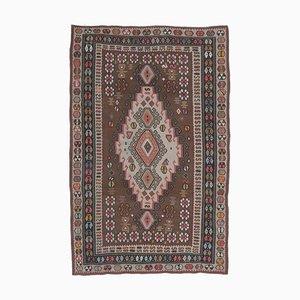 6x10 Vintage Turkish Oushak Handmade Wool Kilim Area Rug