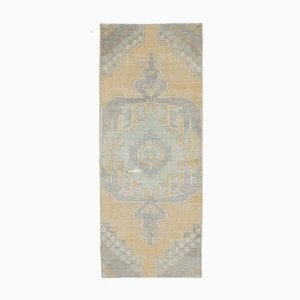 3x7 Handgewebter Teppich aus Orientteppichen von Oushak aus Naher Osten