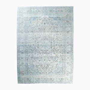 Handgeknüpfter türkischer Vintage Oushak Teppich aus Wolle, 9x13 cm