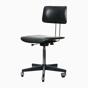 Mid-Century Black Office Swivel Chair from Stol Kamnik