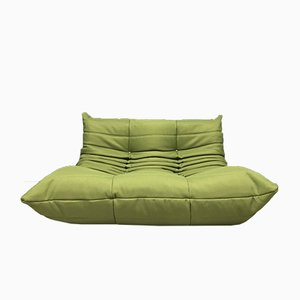 Vintage Green Togo Sofa from Ligne Roset