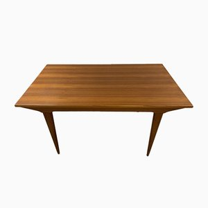 Large Mid-Century Scandinavian Teak Dining Table