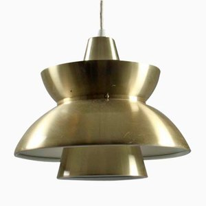 Mid-Century Doo Wop Pendant Lamp by Jørn Utzon for Louis Poulsen
