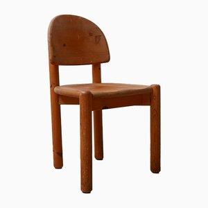 Kiefernholz Esszimmerstühle von Rainer Daumiller, 1970er, 6er Set